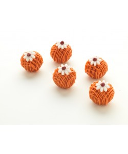 Orange Blossom Cake Pop